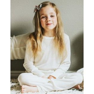 Childrens pyjamas with silk
