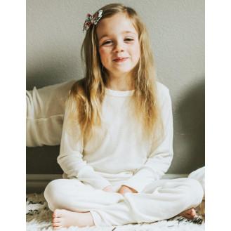 Childrens pyjamas with silk