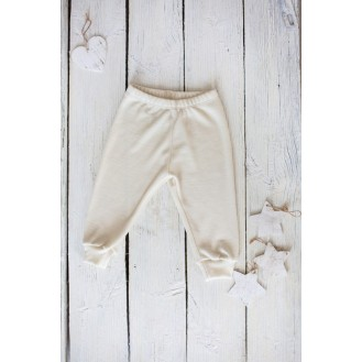 Infant joggers with silk